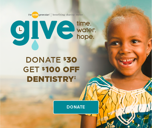 Donate $30, Get $100 Off Dentistry - Cedar Hill Modern Dentistry and Orthodontics
